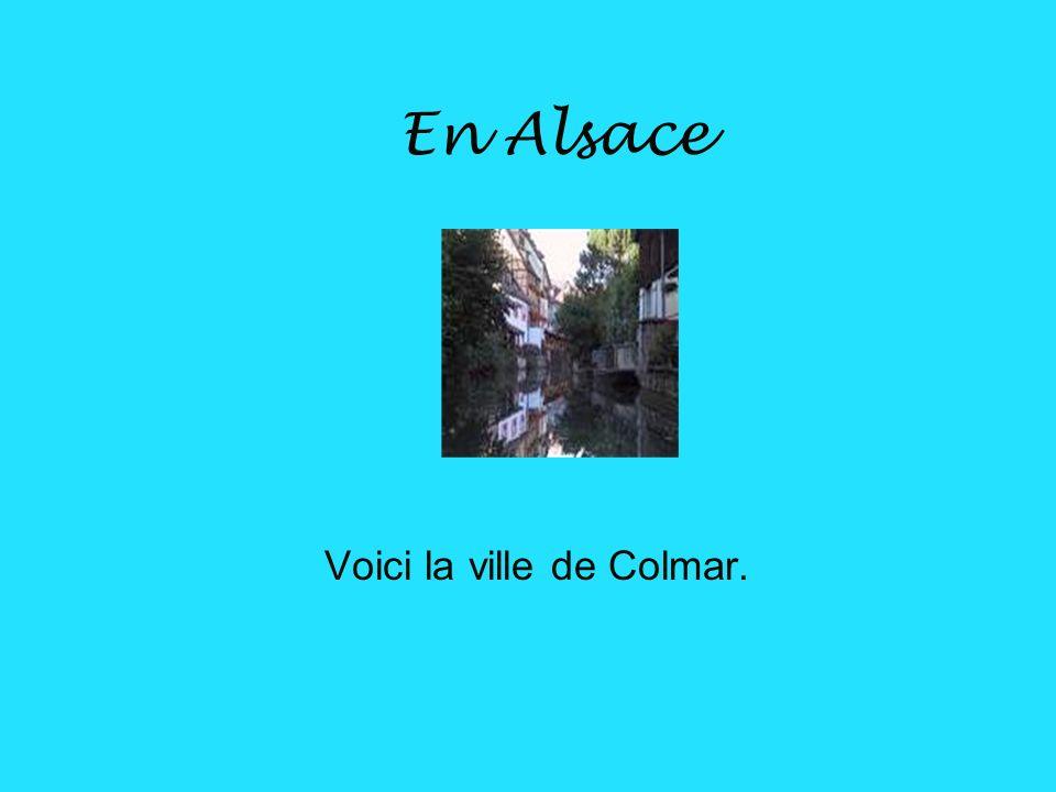 En Alsace La capitale de lAlsace est Strasbourg.