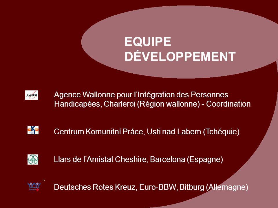 Agence Wallonne pour lIntégration des Personnes Handicapées, Charleroi (Région wallonne) - Coordination Centrum Komunitní Práce, Usti nad Labem (Tchéq