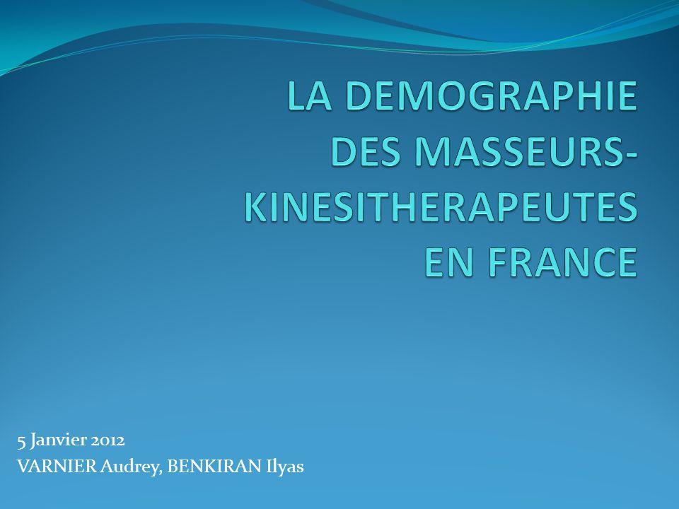 INTRODUCTION La démographie analyse les variations qui touchent une population particulière, ici les MK, dans le temps et dans l espace.