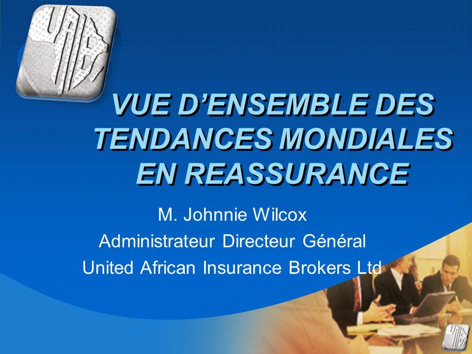 Company LOGO VUE DENSEMBLE DES TENDANCES MONDIALES EN REASSURANCE M.