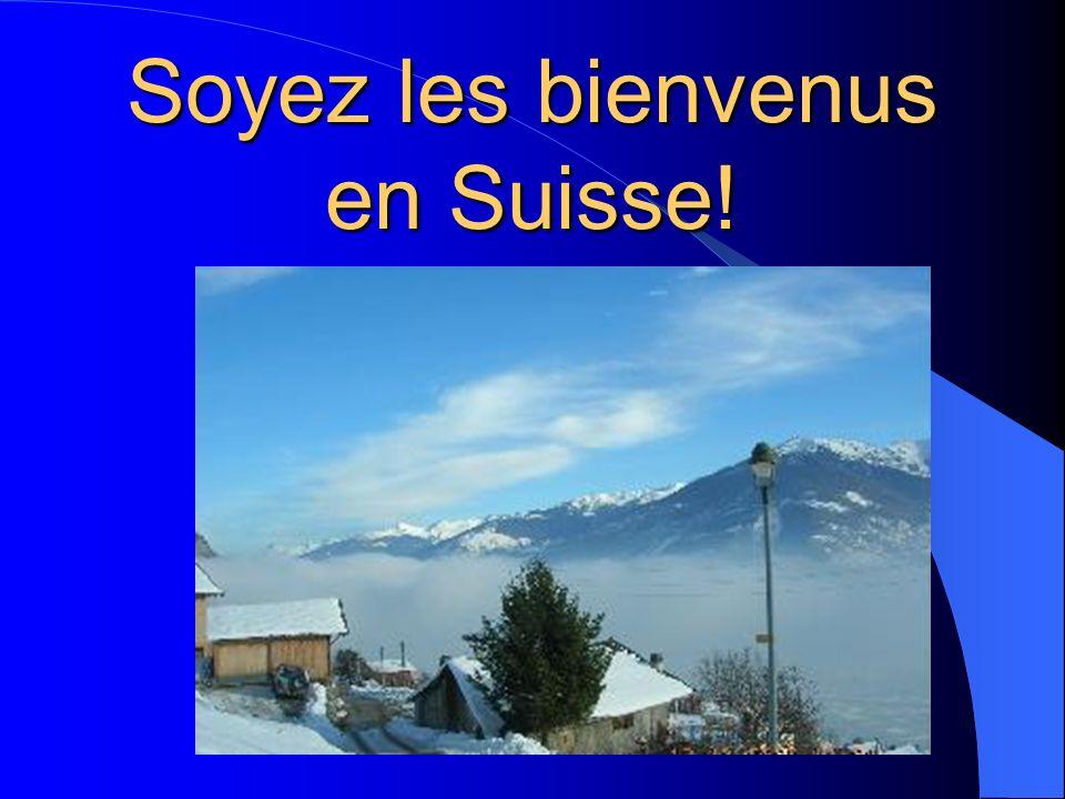 Beaucoup de touristes viennent en Suisse pour Faire du ski Découvrir les magnifiques lacs Manger la fondue et la raclette Admirer les châlets suisses
