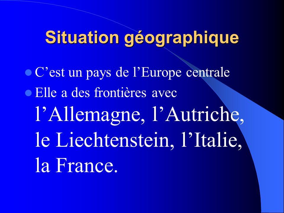 La Suisse est un des pays où où le français est la langue officielle.