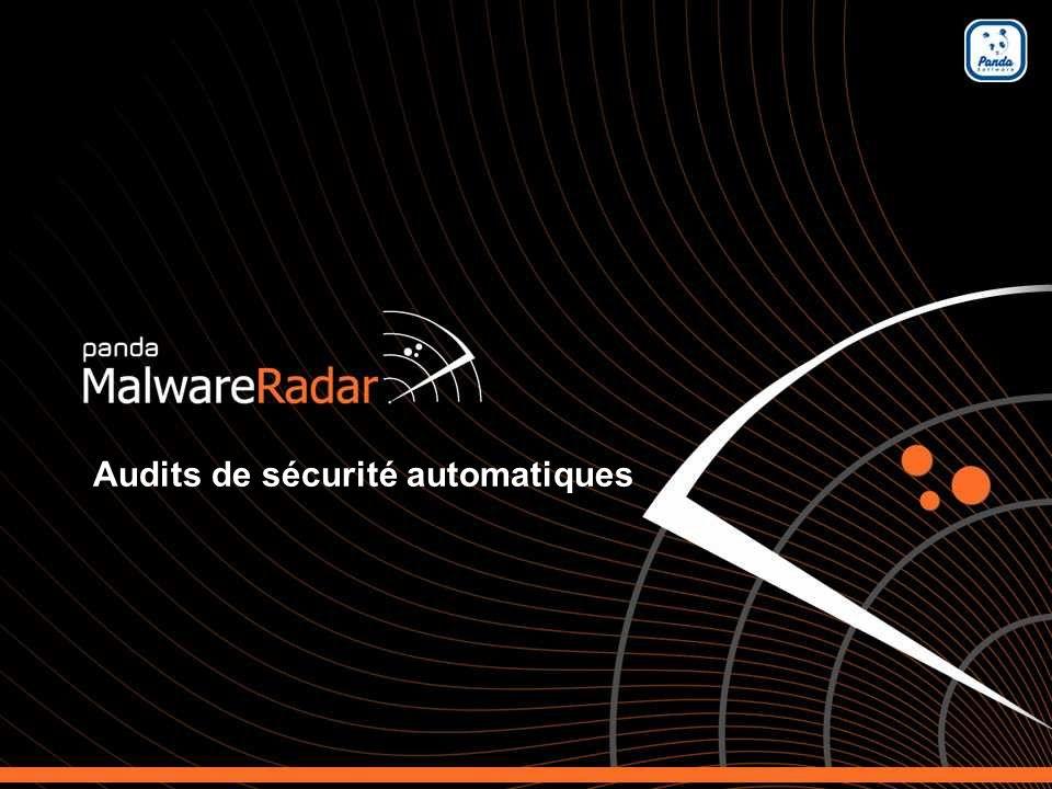 1 Automated malware audit service Audits de sécurité automatiques