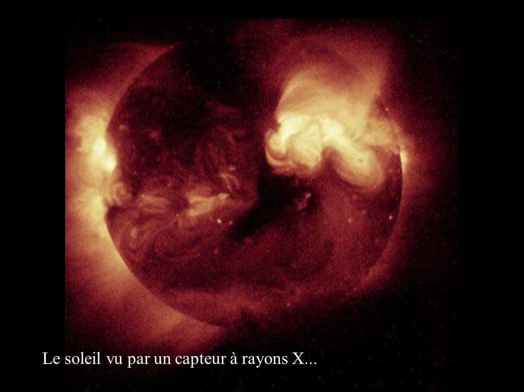 Le soleil vu par un capteur à rayons X...