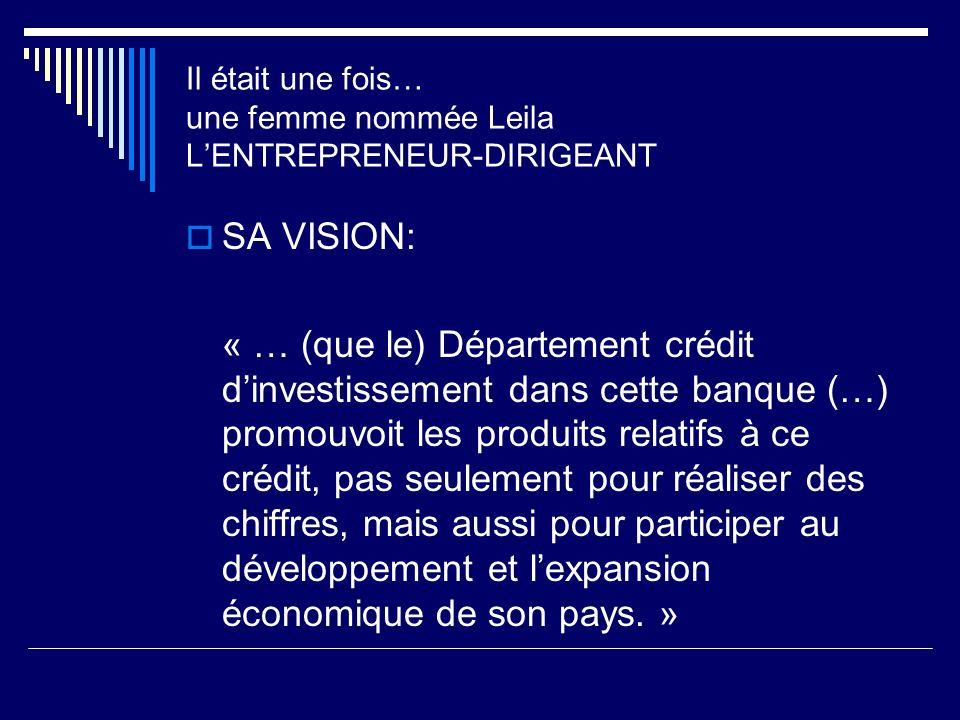 SA VISION: « … (que le) Département crédit dinvestissement dans cette banque (…) promouvoit les produits relatifs à ce crédit, pas seulement pour réal