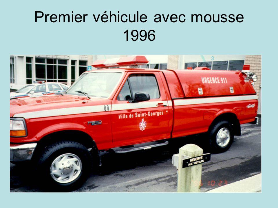 Premier véhicule avec mousse 1996
