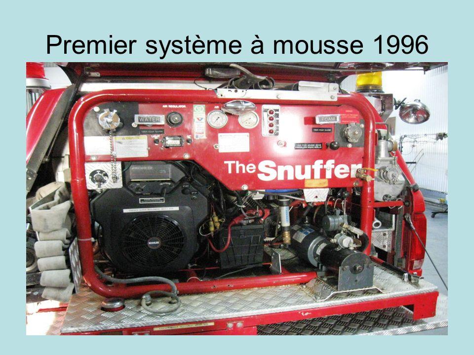 Premier système à mousse 1996