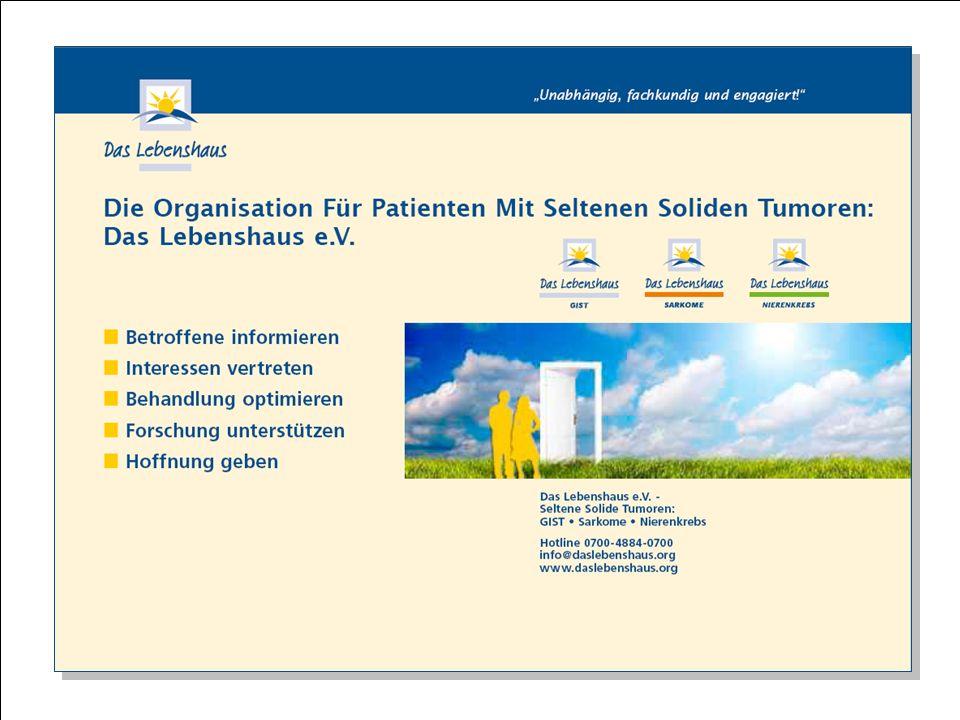 Hier steht Ihre Fußzeile Seite 17 Cancers rares & Das Lebenshaus e.V.