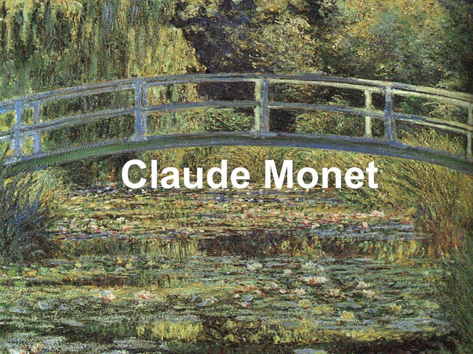 Le peintre, Claude Monet était né à Paris en 1840.