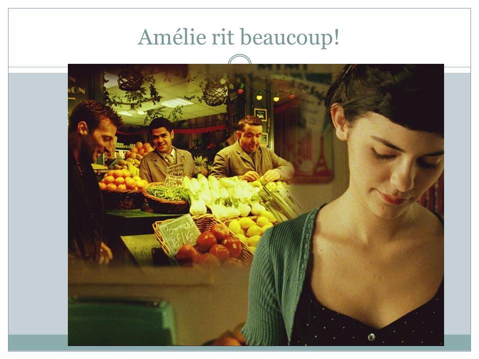 Amélie rit beaucoup!