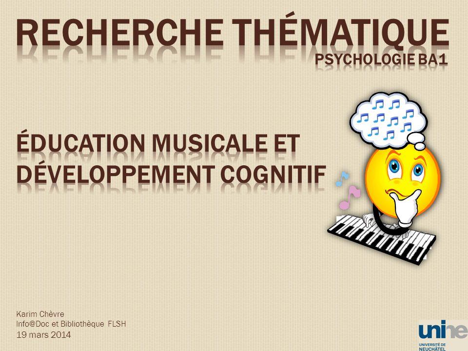 Karim Chèvre Info@Doc et Bibliothèque FLSH 19 mars 2014