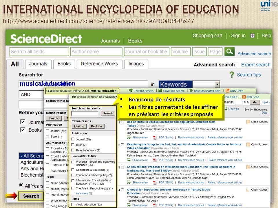 musical education music education Beaucoup de résultats Les filtres permettent de les affiner en présisant les critères proposés