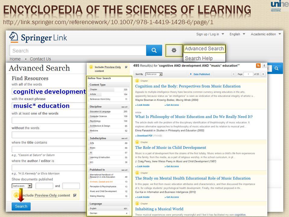 http://link.springer.com/referencework/10.1007/978-1-4419-1428-6/page/1 music* education cognitive development