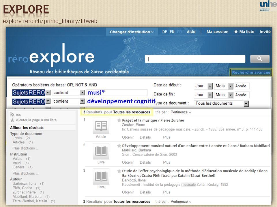 explore.rero.ch/primo_library/libweb musi* développement cognitif