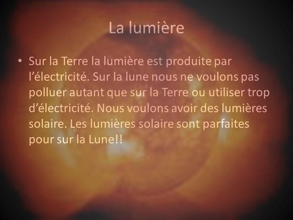 La lumière Sur la Terre la lumière est produite par lélectricité.