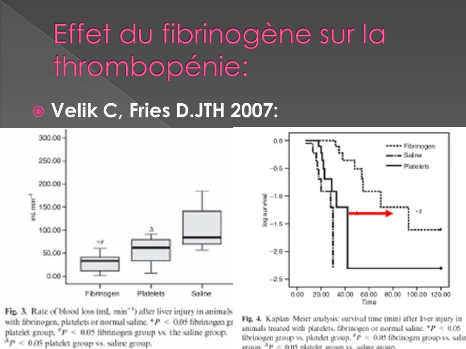 Velik C, Fries D.JTH 2007: