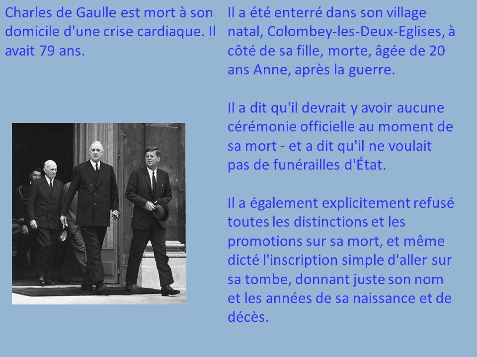 http://en.wikipedia.org/wiki/ Charles_de_Gaulle Ouvrage cité: http://www.spartacus.school net.co.uk/2WWdegaulle.htm
