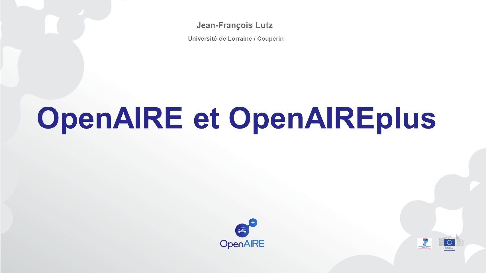 Au programme… 5e journées Open Access de Couperin, Paris, 25 janvier 20132 Quel contexte et quels objectifs .