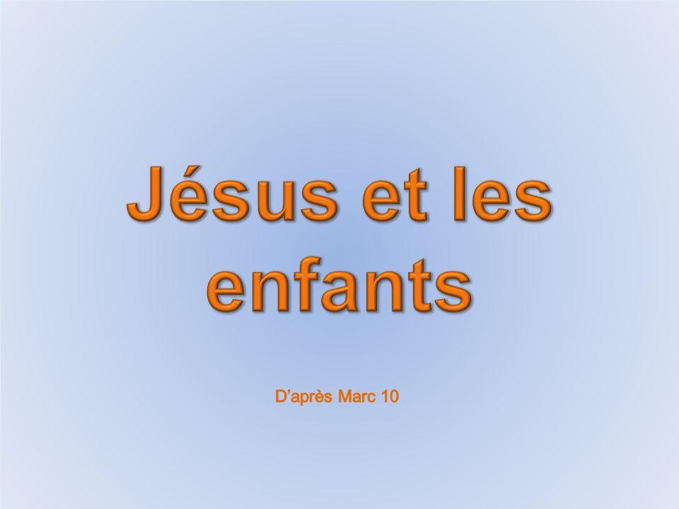 Jésus traverse le pays avec les disciples