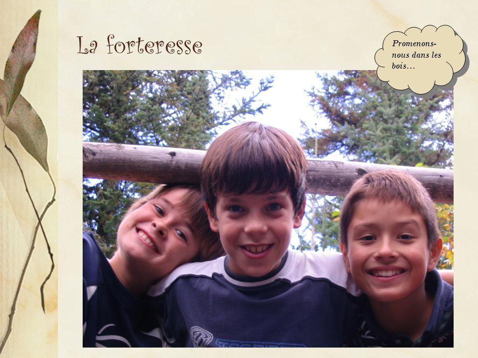 La forteresse Promenons- nous dans les bois…