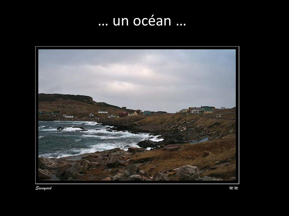 … un océan …