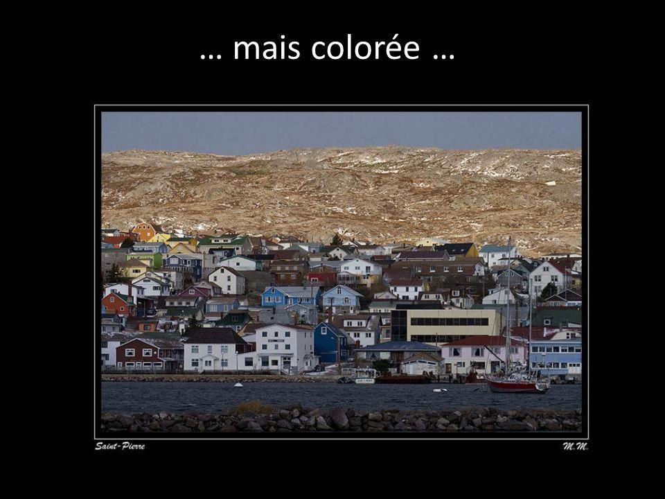 … mais colorée …