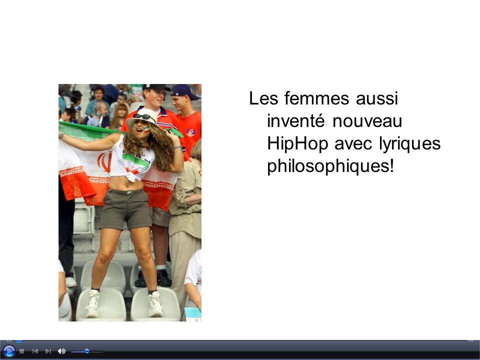 Les femmes aussi inventé nouveau HipHop avec lyriques philosophiques!