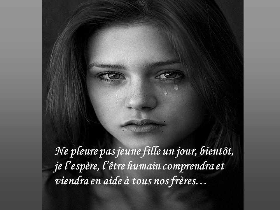 Quand lhumanité comprendra …. Quil faut dénoncer la guerre et venir en aide à toutes ces mères…pour que cesse enfin la misère….