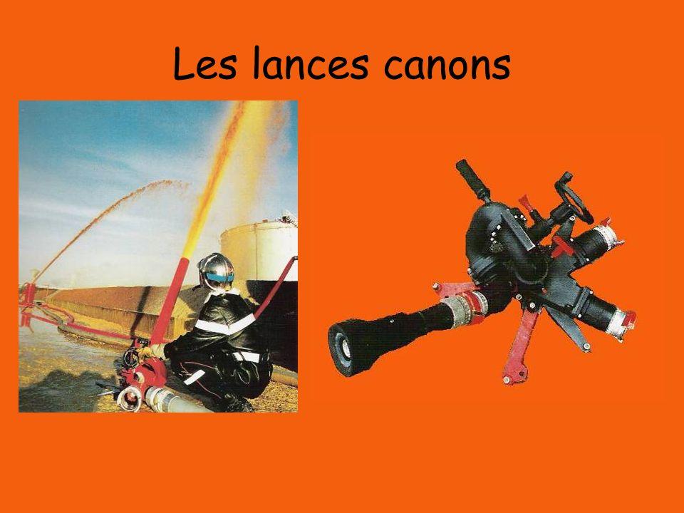 Les lances canons