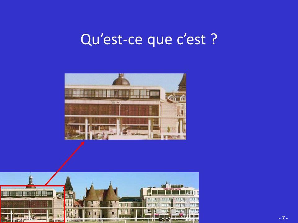 Cest la TOITURE dune EGLISE qui a été construite au XVII ème siècle Toiture de la tour lanterne Toiture du portail de la façade - 6 -