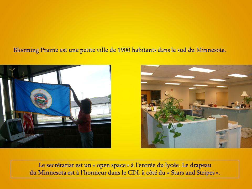 Blooming Prairie est une petite ville de 1900 habitants dans le sud du Minnesota.