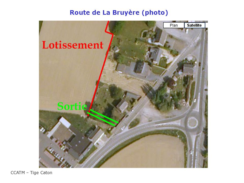 Route de La Bruyère (photo) CCATM – Tige Caton