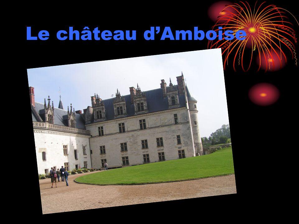 Le château dAmboise