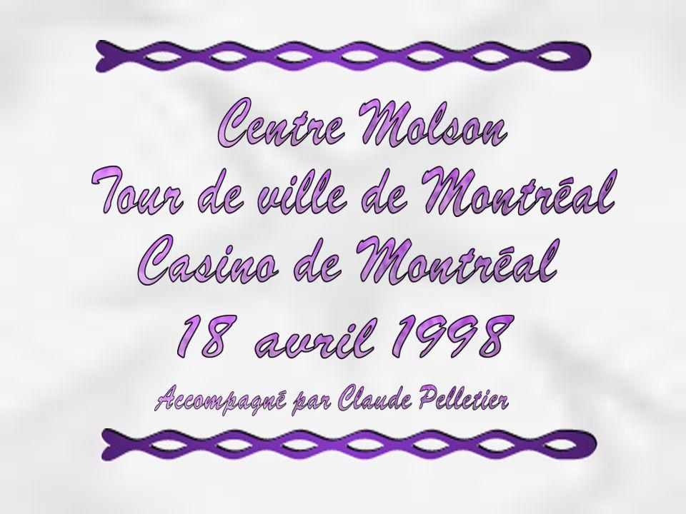 Centre Molson Inauguration 16 mars 1996 24 coupes Stanley Peut contenir de 14000 à 21 500 personnes en tout confort.