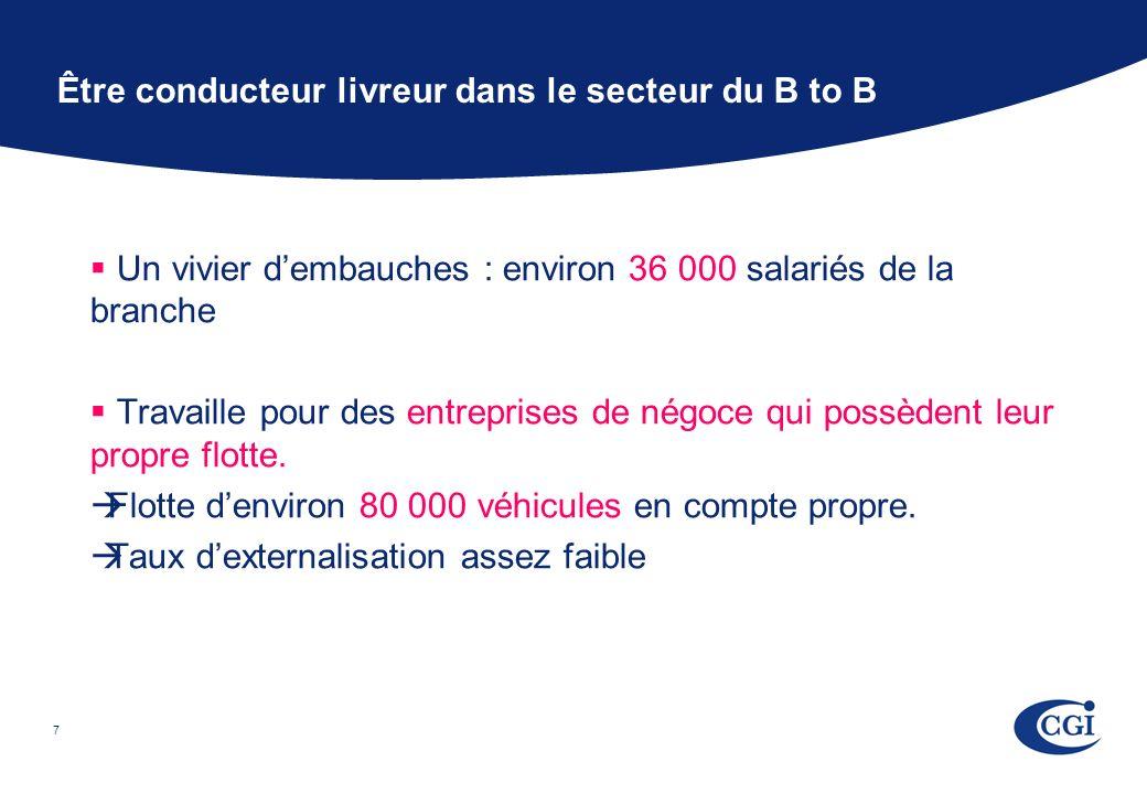 7 Un vivier dembauches : environ 36 000 salariés de la branche Travaille pour des entreprises de négoce qui possèdent leur propre flotte.