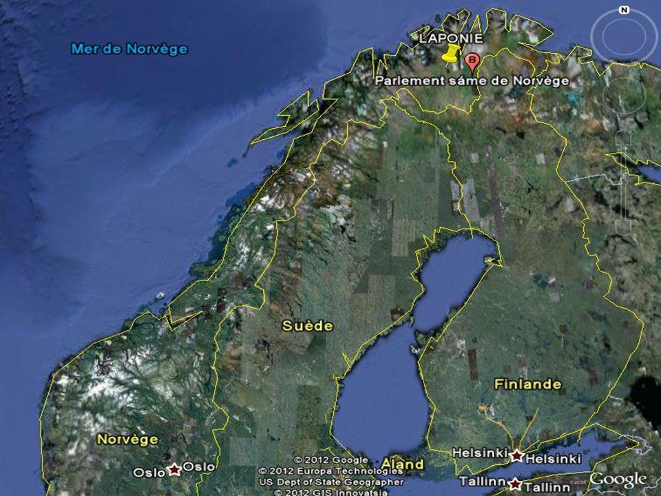 LAPONIE La Laponie, en Norvège, est le lieu idéal pour jouir de ce spectacle merveilleux de la nature.