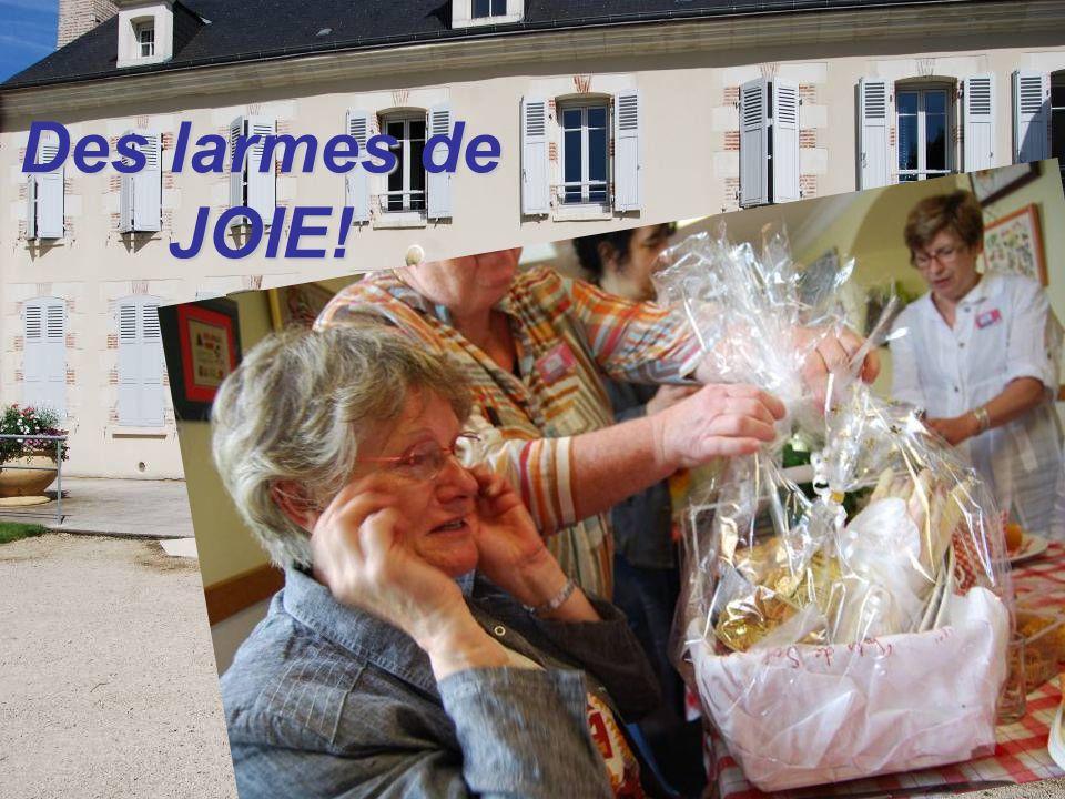 Des larmes de JOIE!