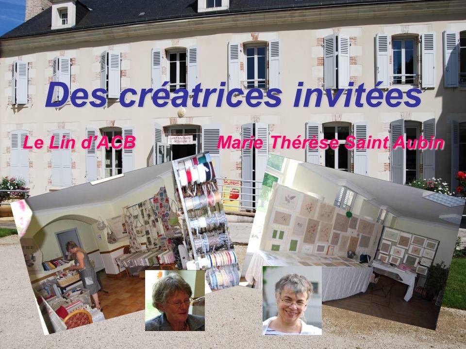 Des créatrices invitées Le Lin dACB Marie Thérèse Saint Aubin