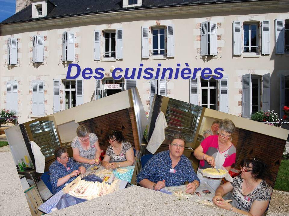 Des cuisinières