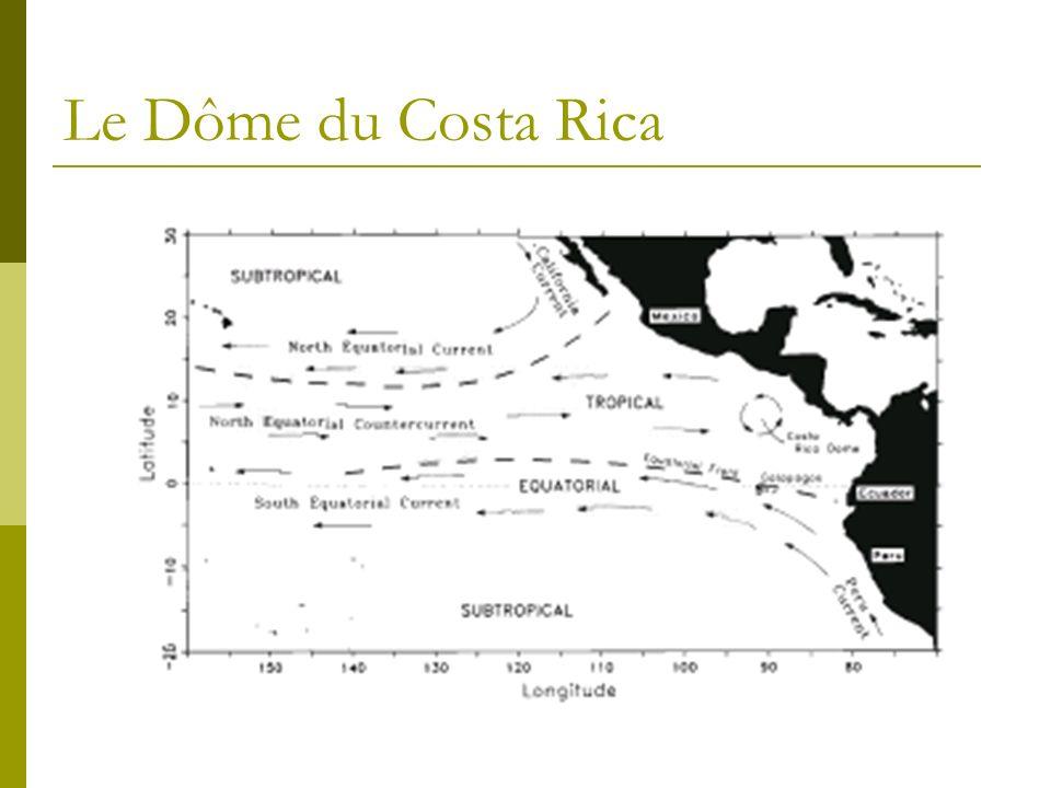 Habitat préférentiel Exemple: Dauphin a long bec Eaux fortement stratifiées Dauphin commun a bec court Upwelling-modified waters