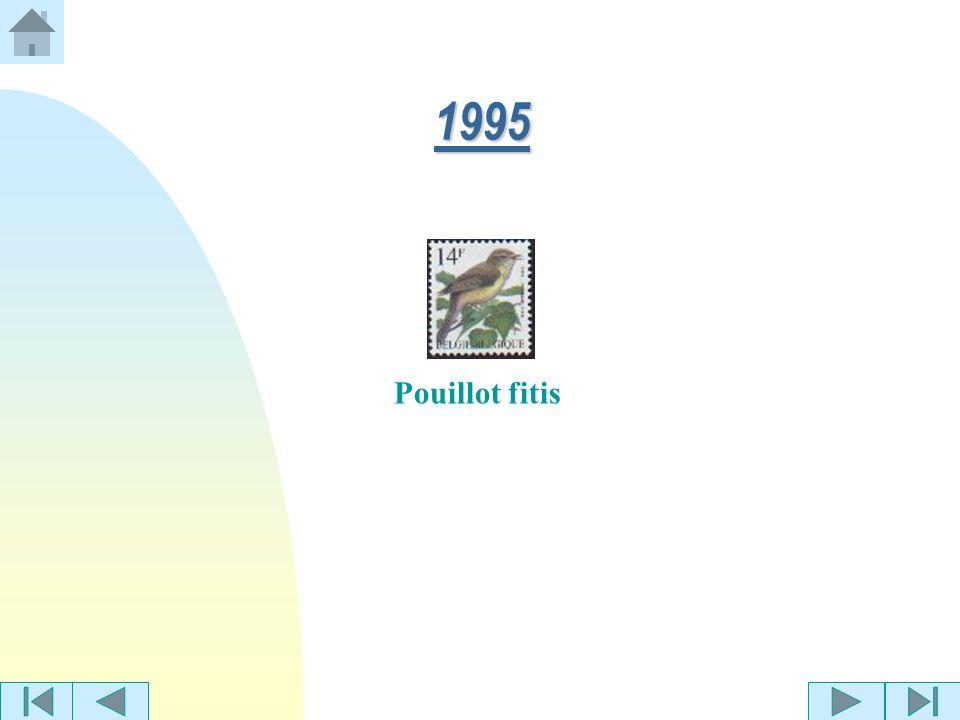 1994 Phragmite des joncsMoineau domestique Jaseur boréal
