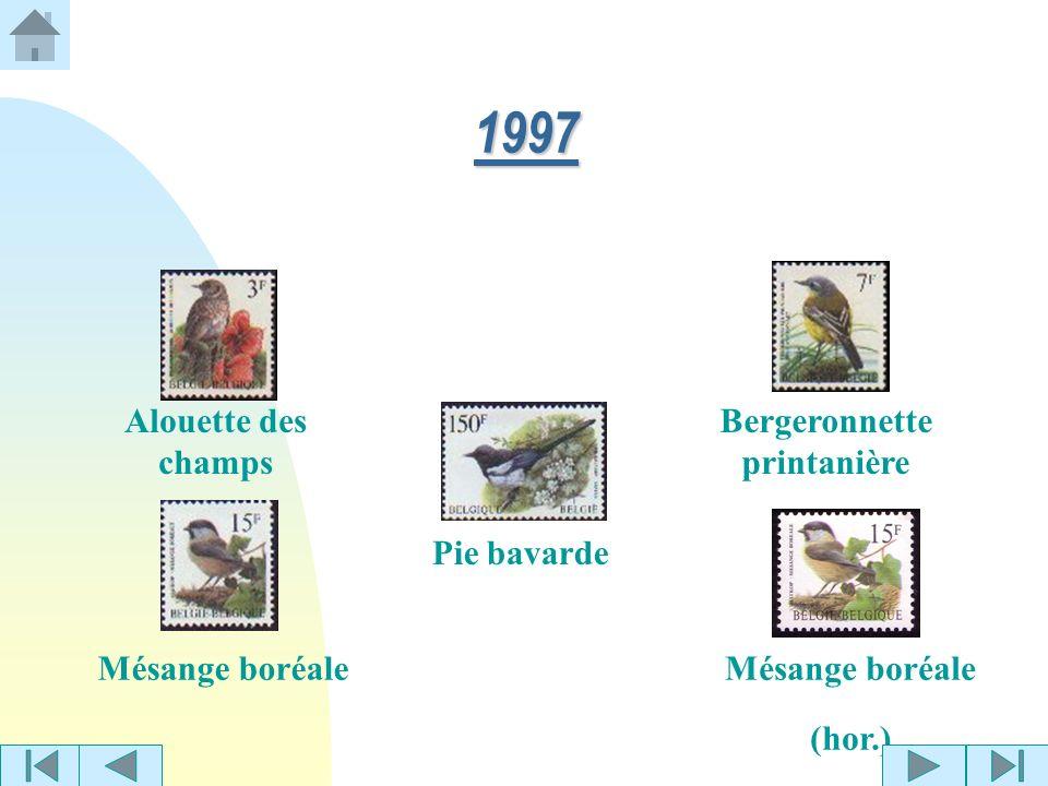 Grive mauvisGobe-mouche noir 1996 Étourneau sansonnet Tarin des aulnes