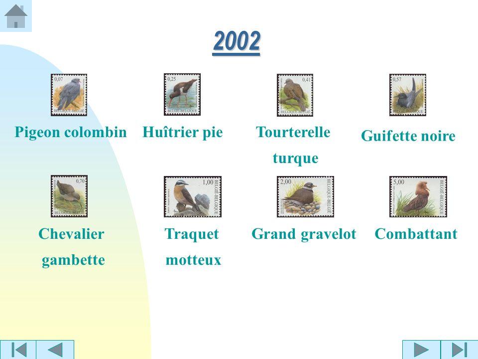 Roitelet huppé 2001 Pie-grièche grise Sterne pierregarin Grive litorne Pie bavarde