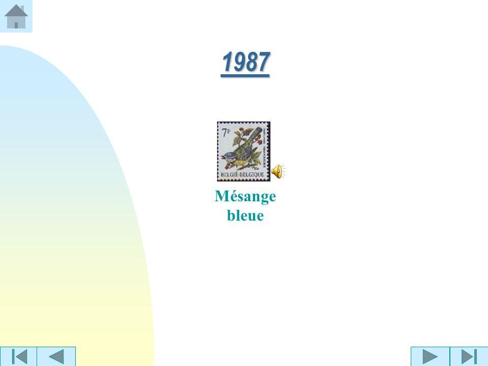 Rouge-gorge Martin-pêcheur 1986