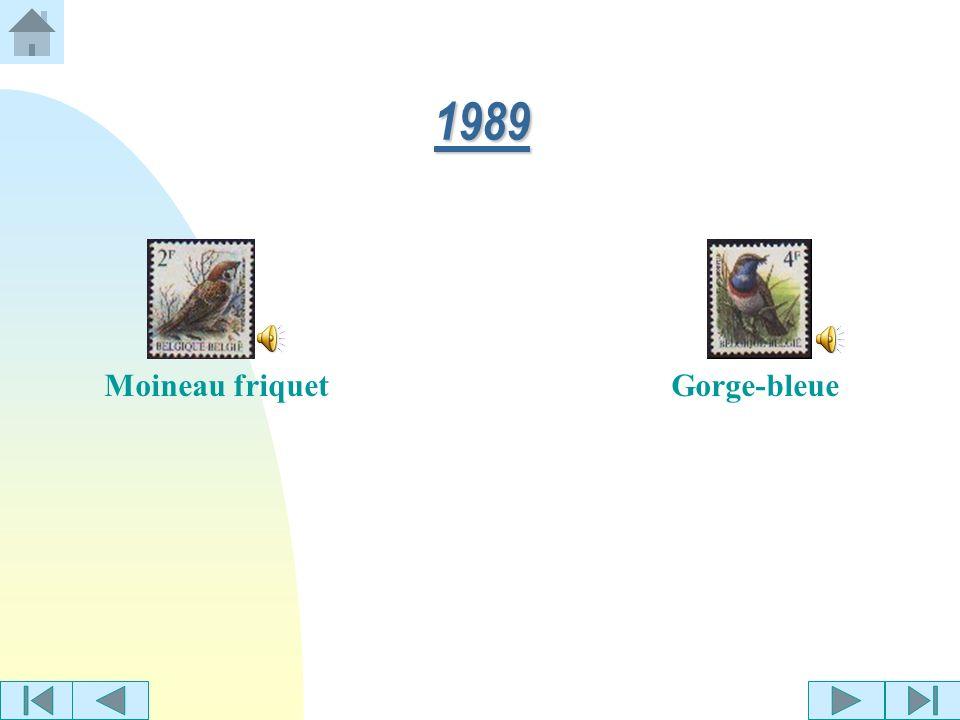 Bouvreuil pivoine Sittelle torchepot 1988