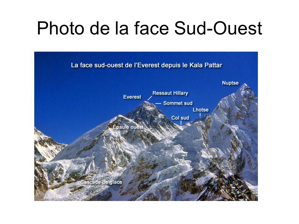 Photo de la face Sud-Ouest