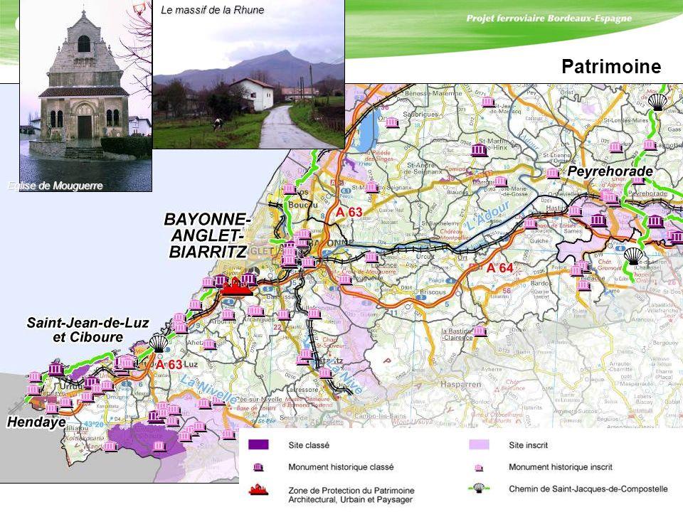 Patrimoine Eglise de Mouguerre Le massif de la Rhune