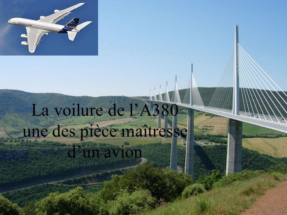 1 La voilure de lA380 une des pièce maîtresse dun avion