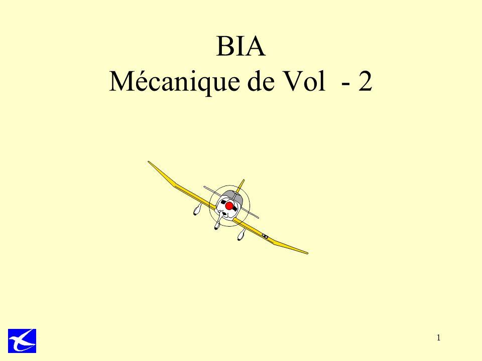 BIA Mécanique de Vol - 2 1