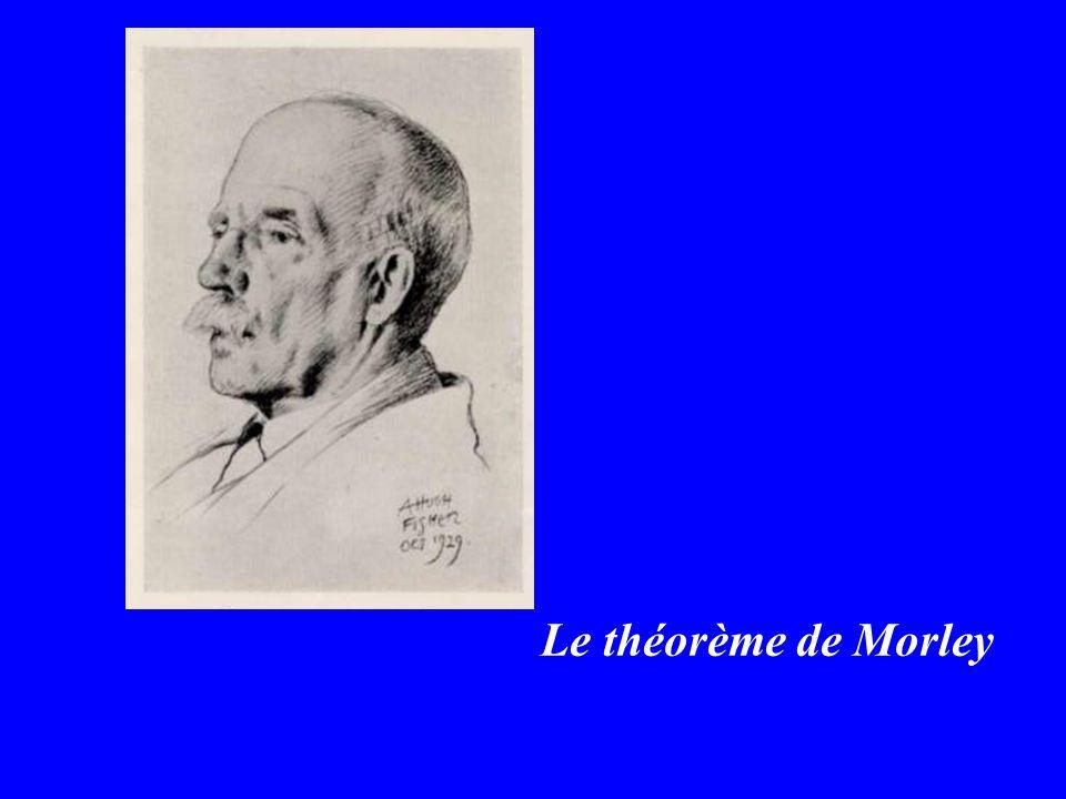 Le théorème de Morley